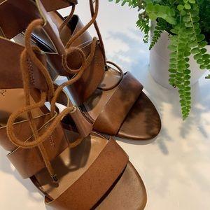 Indigo rd brown strap sandals
